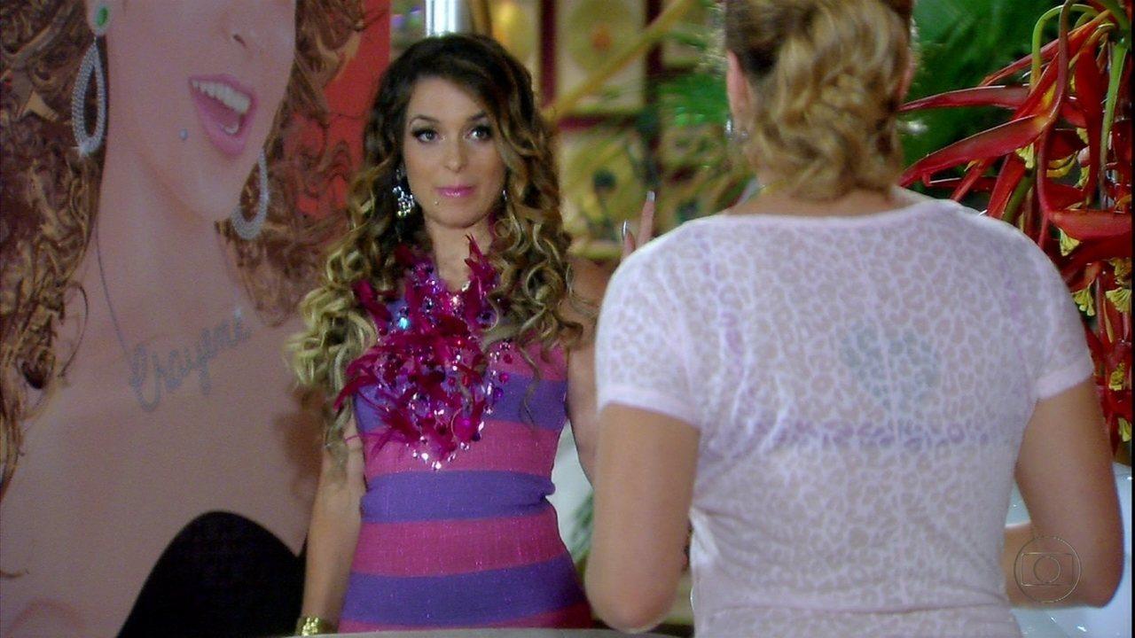 Cheias de Charme - Capítulo de sábado, 21/04/2012, na íntegra - Fabian dá bolo em Chayene e a cantora fica irritada