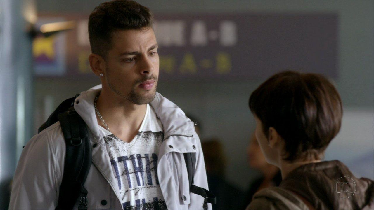 Avenida Brasil - Capítulo de quarta-feira, dia 09/05/2012, na íntegra - Nina termina o romance com Jorginho