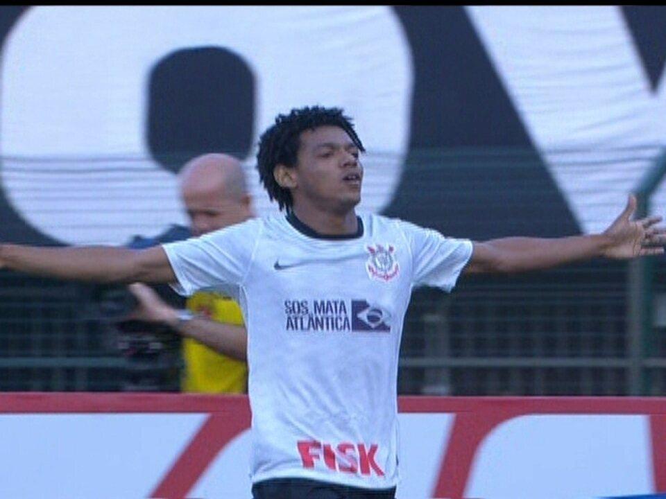 Os gols de Corinthians 2 x 1 Palmeiras pela 6ª rodada do Campeonato Brasileiro