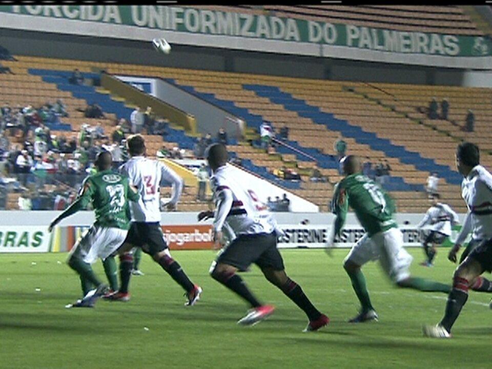 Os gols de Palmeiras 1 x 1 São Paulo pela 9ª rodada do Campeonato Brasileiro 2012