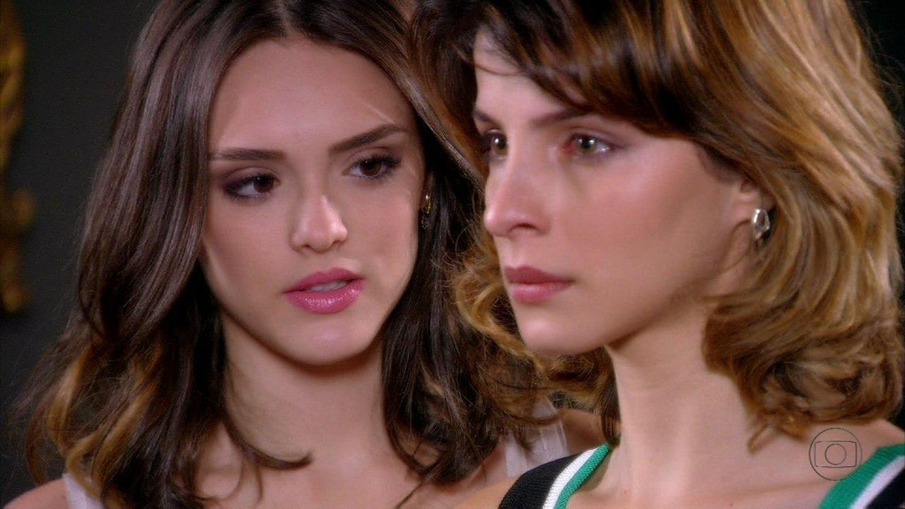 Cheias de Charme - Capítulo de segunda-feira, dia 23/07/2012, na íntegra - Conrado fica impressionado com Cida, e Isadora percebe