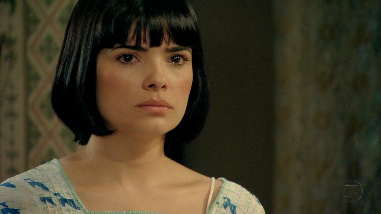 Malvina afirma que não se casará com Berto