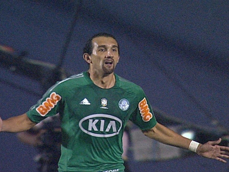 Palmeiras 1 x 0 Flamengo pela 17ª rodada do Brasileirão 2012