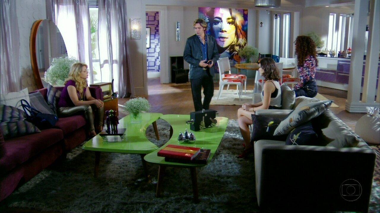 Cheias de Charme - Capítulo de sábado, dia 25/08/2012, na íntegra - Rosário decide deixar as Empreguetes