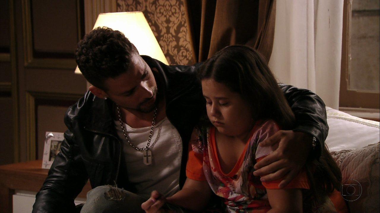 Avenida Brasil - Capítulo de quinta-feira, dia 13/09/2012, na íntegra - Jorginho tenta conversar com Ágata sobre Nina