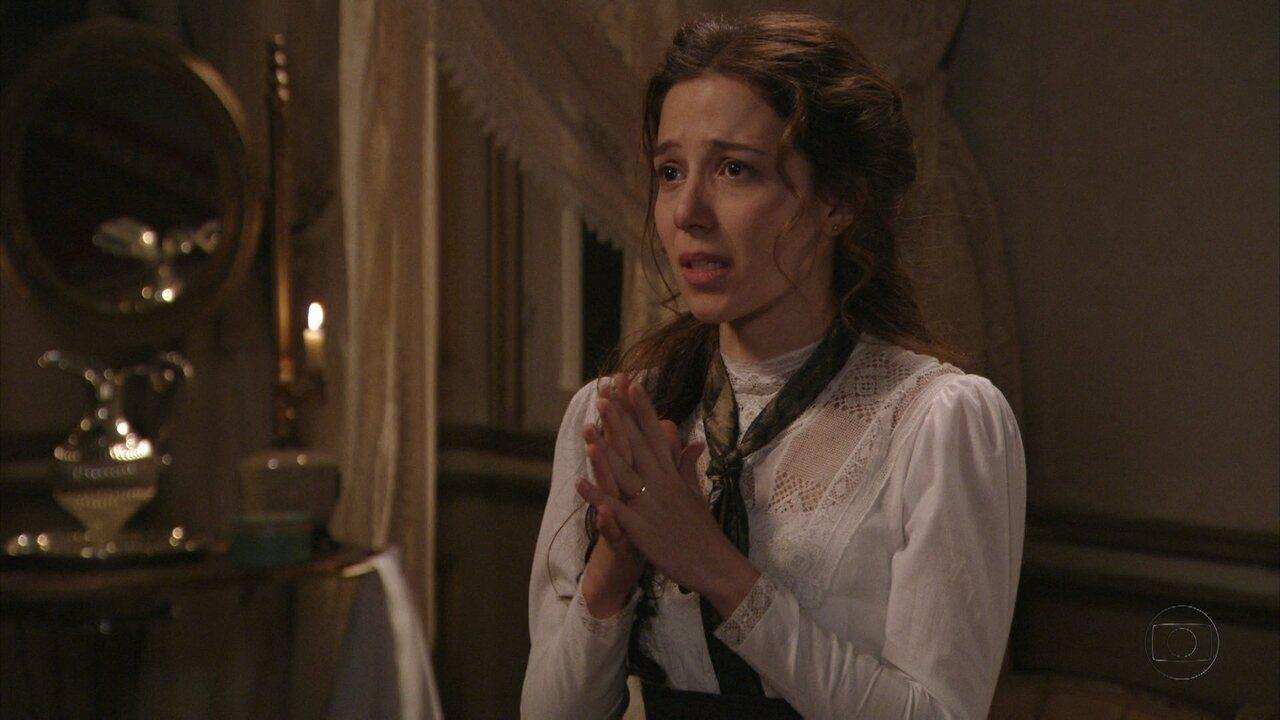 Lado a Lado - capítulo de quinta-feira, dia 25/10/2012, na íntegra - Laura implora o perdão de Edgar