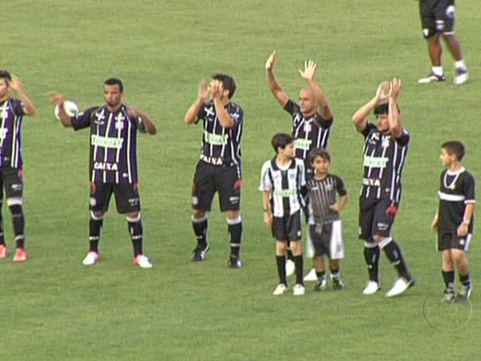 Figueirense empata com o Sport e é rebaixado em 2012