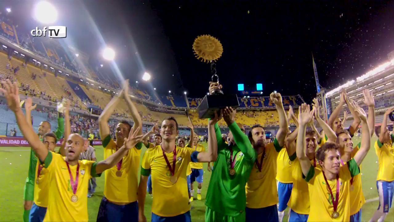 Brasil vence Argentina nos pênaltis e fatura o Superclássico das Américas 2012