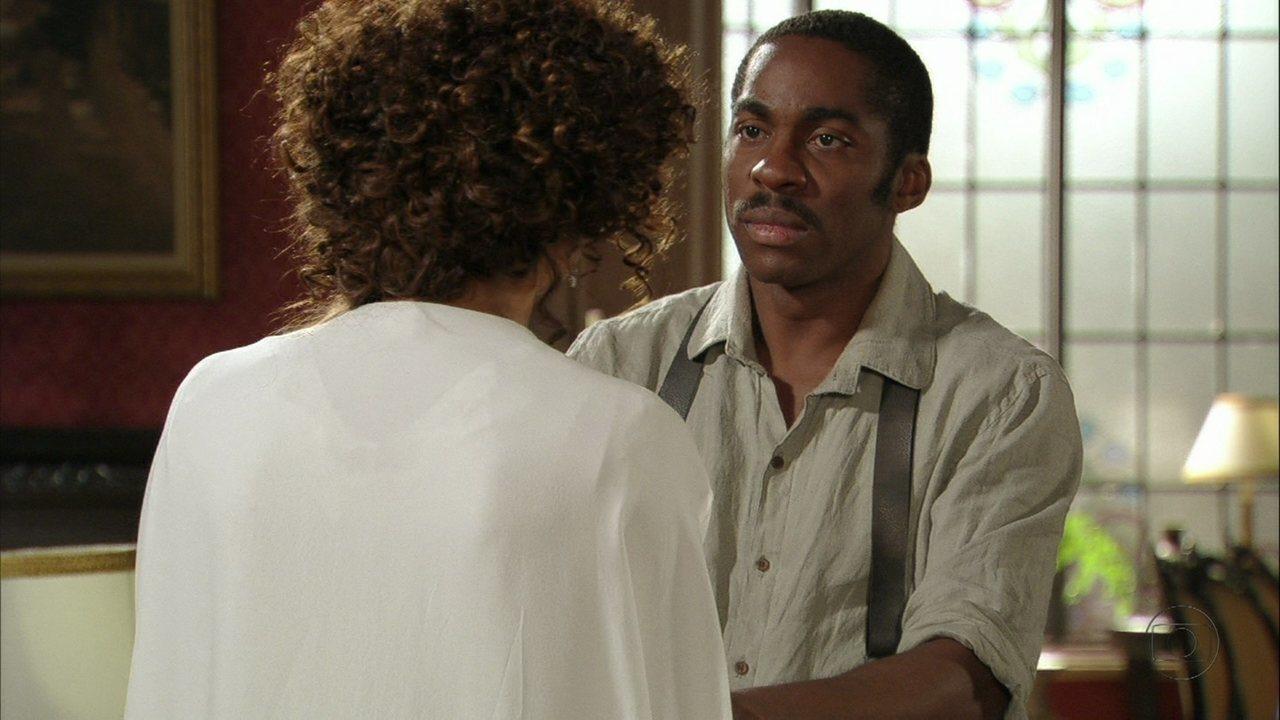 Lado a Lado - capítulo de quarta-feira, dia 26/12/2012, na íntegra - Zé Maria termina seu relacionamento com Isabel