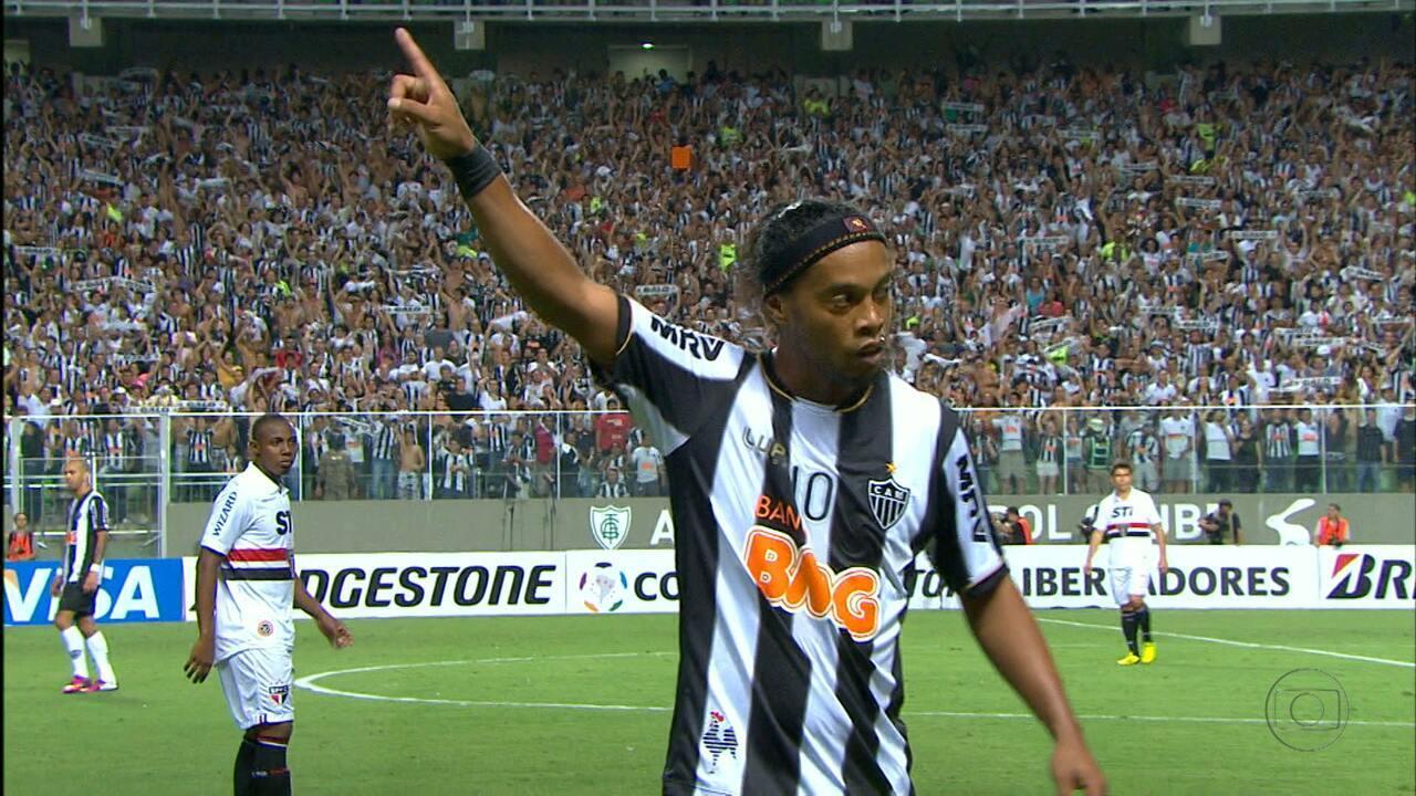Ronaldinho Gaúcho deu show na Libertadores