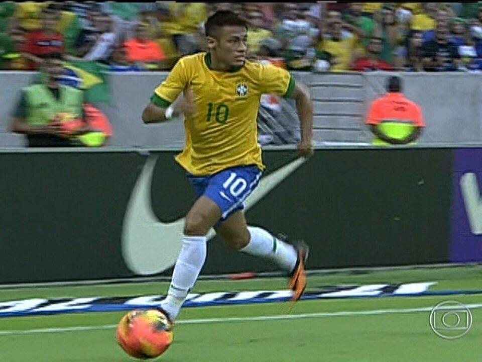 Brasil empata com a Inglaterra na reabertura do Maracanã