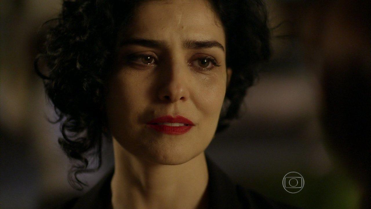 Sangue Bom - Capítulo de sábado, dia 17/08/2013, na íntegra - Érico apresenta Verônica como Palmira para Renata