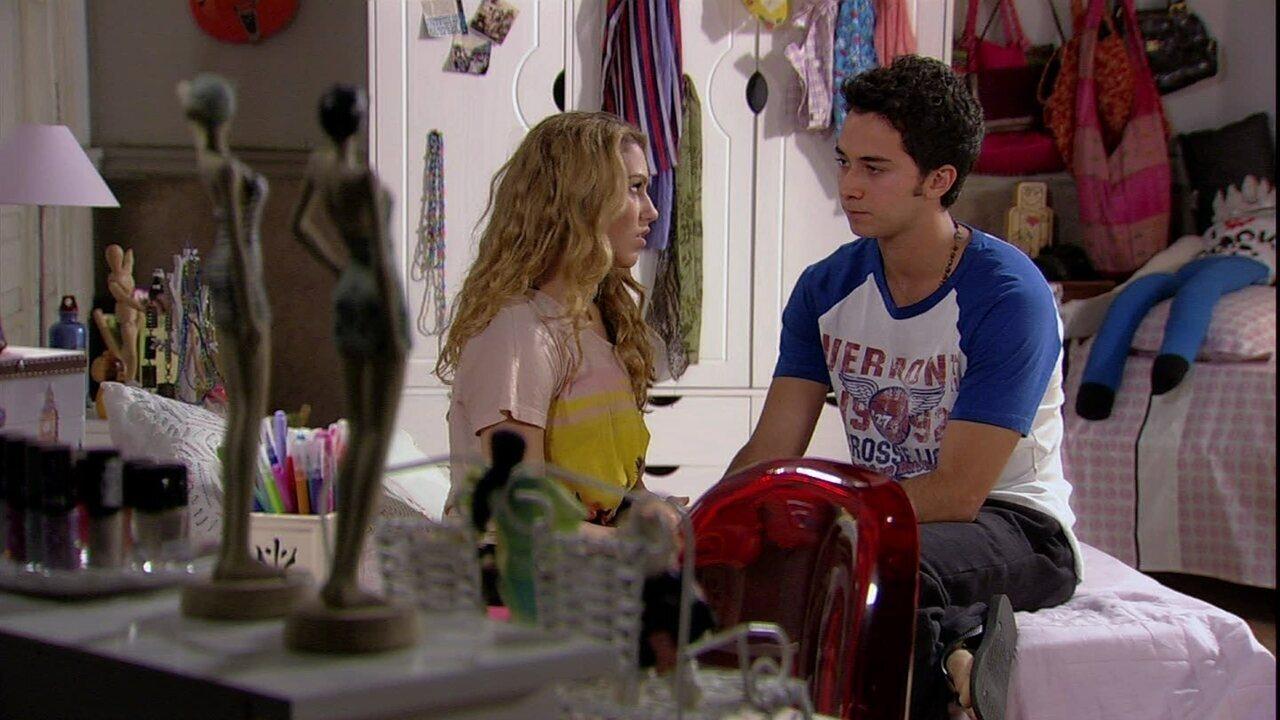 Malhação - Capítulo de sexta-feira, dia 11/10/2013, na íntegra - Meg decide aceitar o pedido de Ben para ficar no Brasil