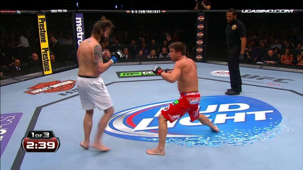 UFC Johnson x Benavidez II - Sam Stout x Cody McKenzie