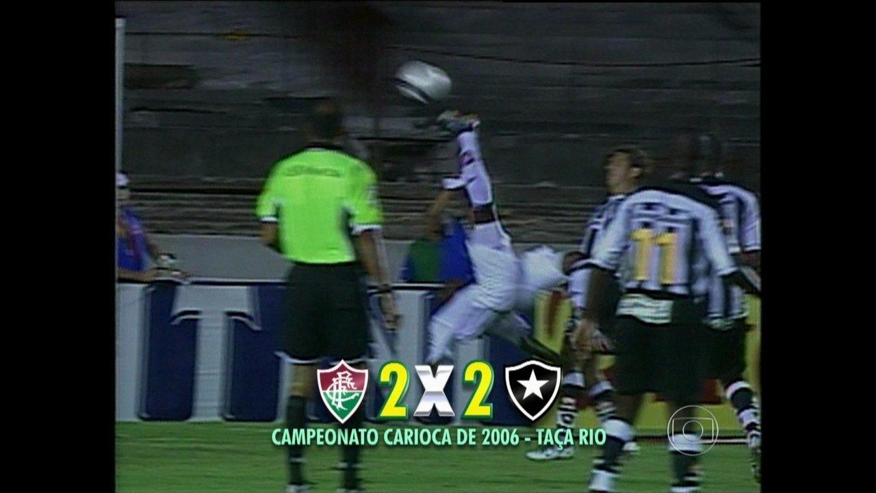 Marcão faz gol de bicicleta pelo Fluminense sobre o Botafogo no Carioca de 2016