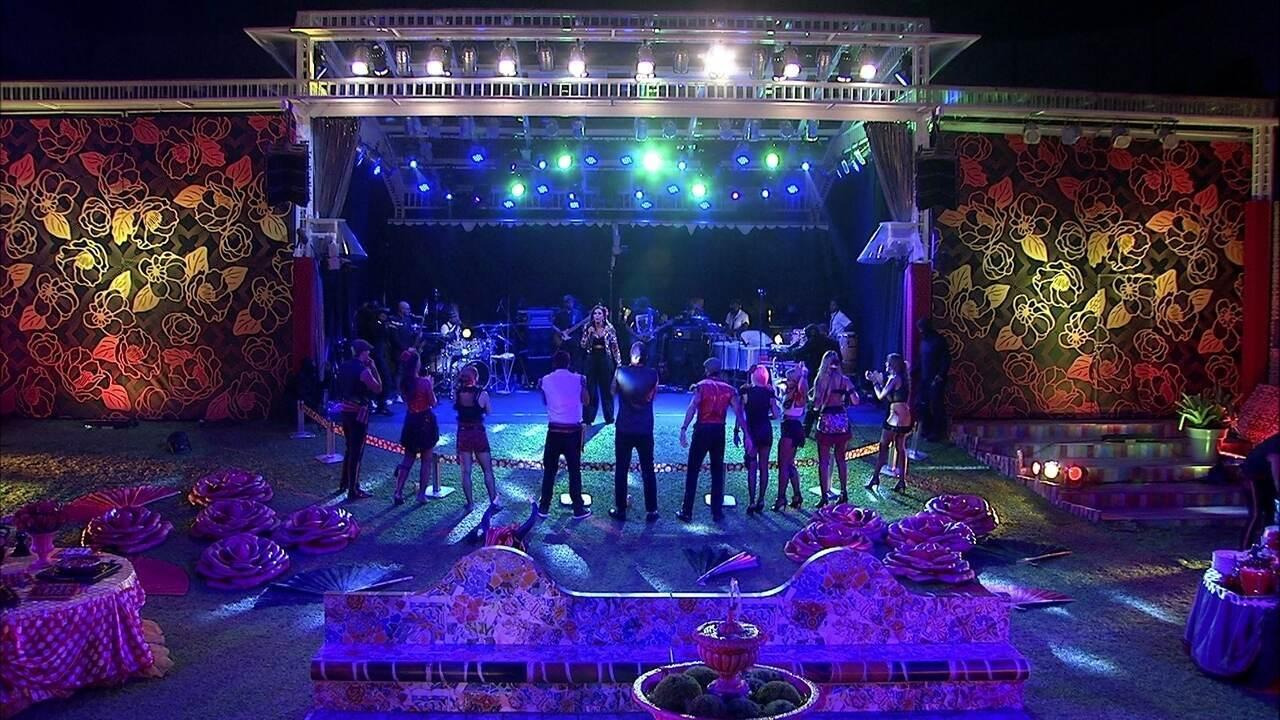 Brothers cantam música 'Festa' junto com Ivete Sangalo