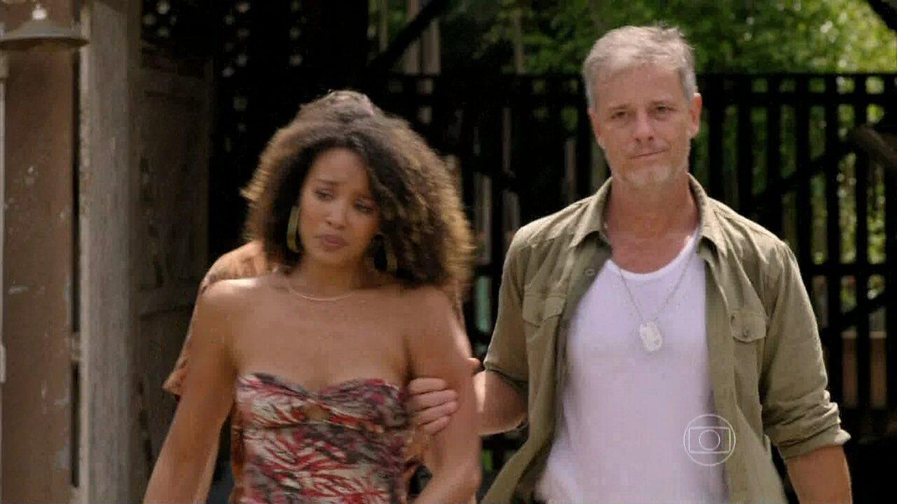 Além do Horizonte - Capítulo de Terça-feira, 04/03/2014, na íntegra - Kleber arrasta Keila pela cidade e leva a mulher de volta para casa