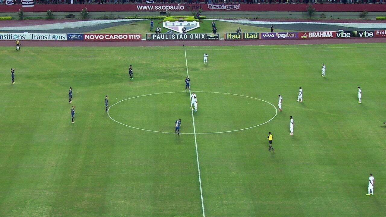 Melhores Momentos de São Paulo 0x0 Penapolense, pelas quartas de final do Paulistão