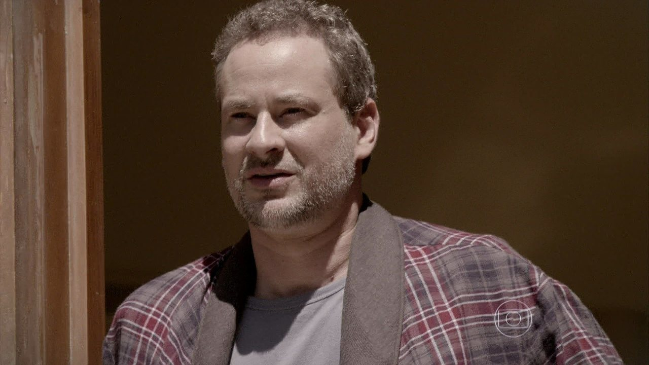 Dan Stulbach deu vida a um homem com TOC em Segunda Dama
