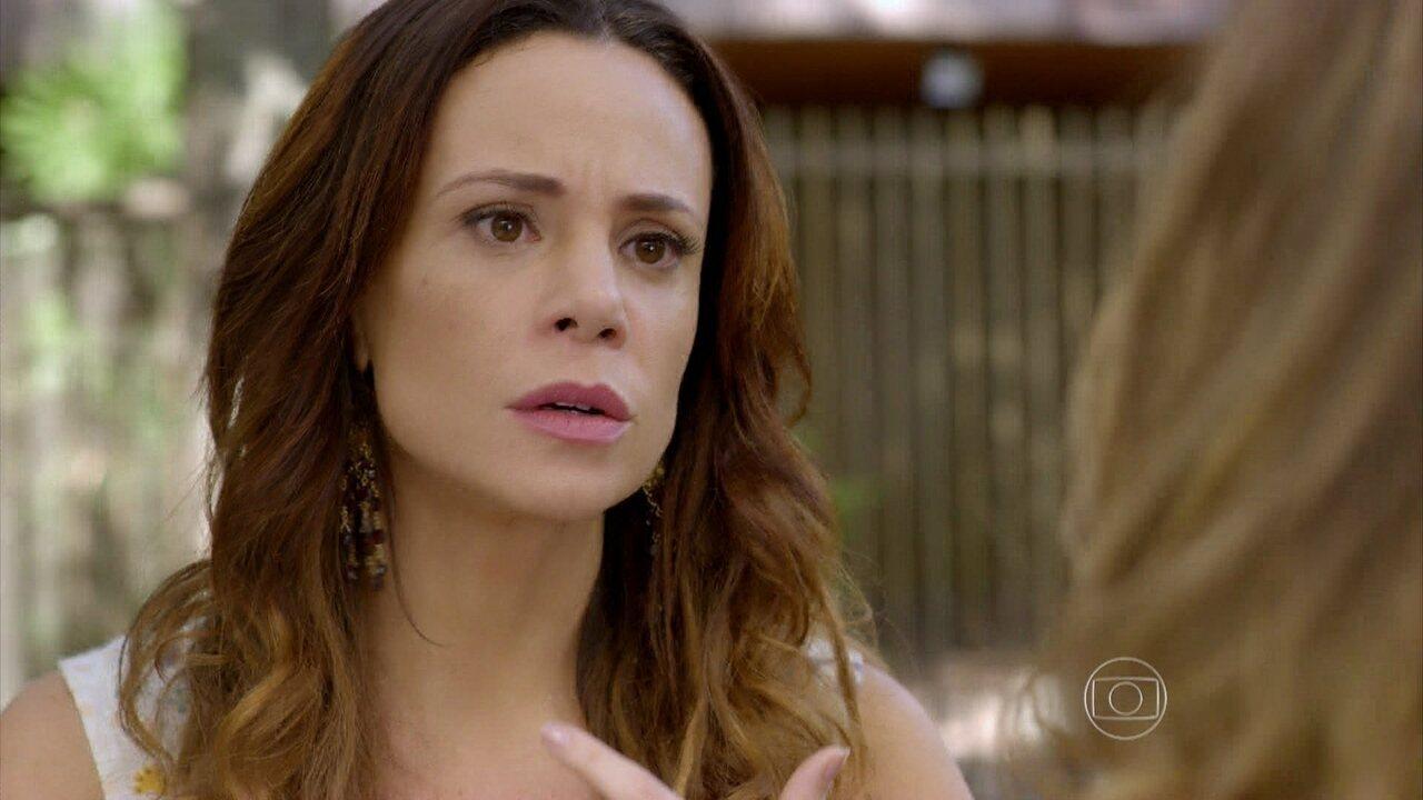 Em Família - Capítulo de sexta-feira, dia 16/05/2014, na íntegra - Juliana descobre que Iolanda pegou Bia na creche