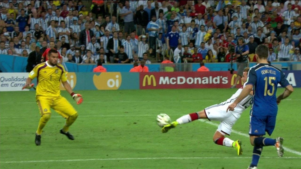 Melhores momentos: Alemanha 1 x 0 Argentina pela final da Copa do Mundo 2014