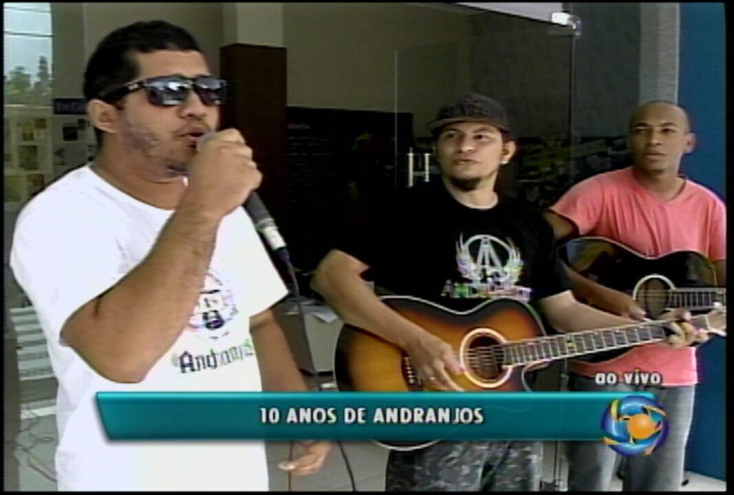 Banda Andranjos, de Petrolina, completa 10 anos de muito rock