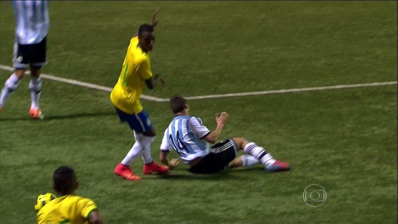 Veja gol de Danilo pelo Brasil sub-20 em 2014