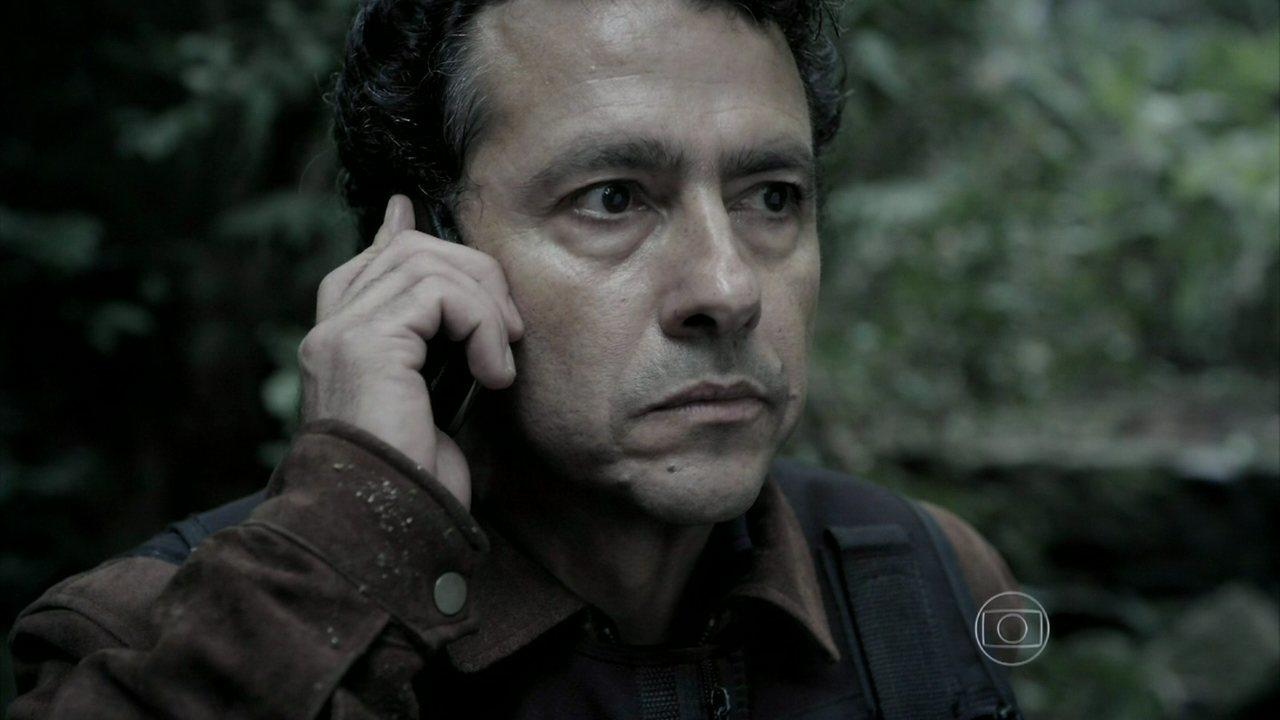 Capítulo de 28/08/2014 - Antenor descobre a causa da morte de Bruno e surpreende Pedroso e Rosa