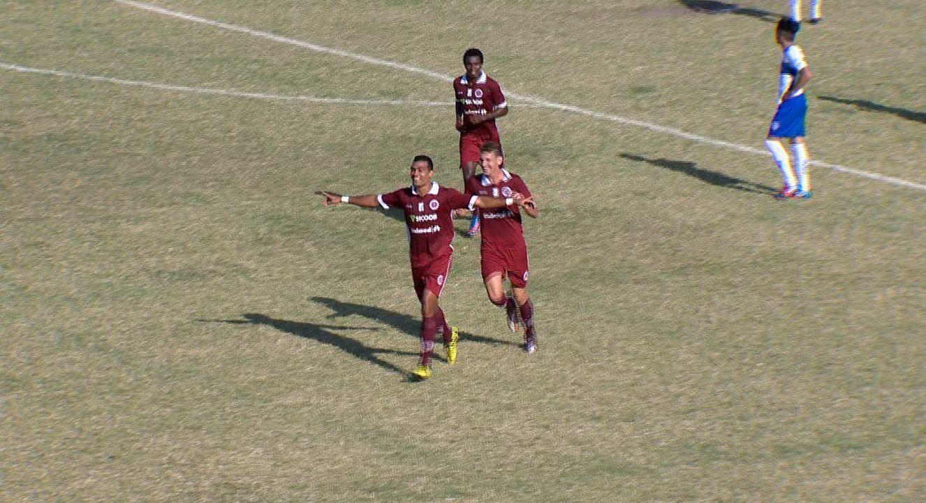 O gol de Vitória 0 x 1 Desportiva, pela Copa Espírito Santo 2014
