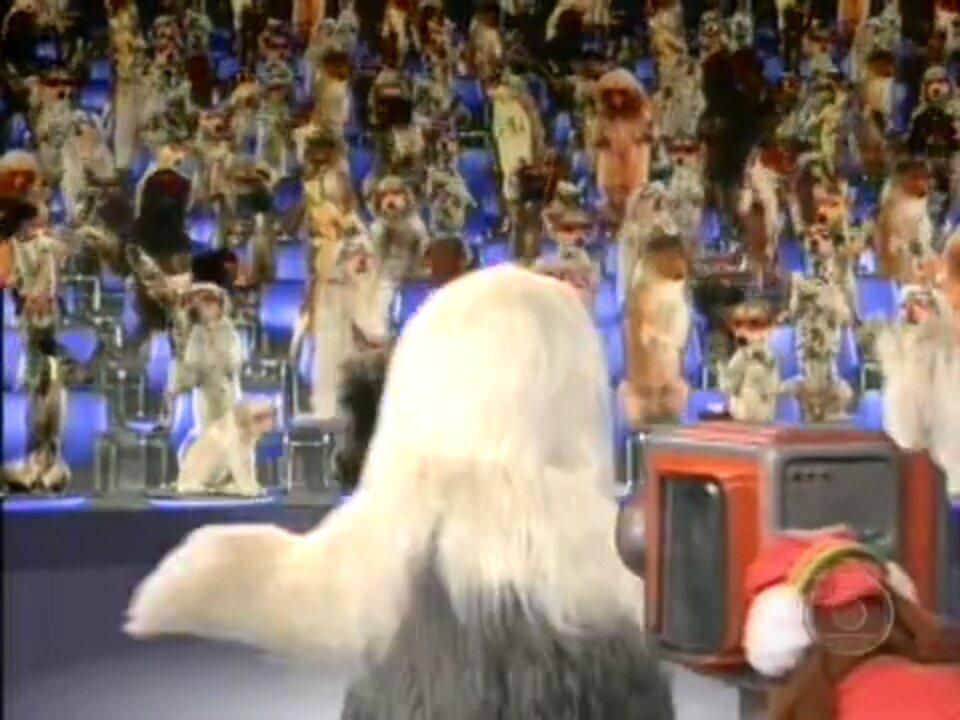 Abertura da TV Colosso - 1993