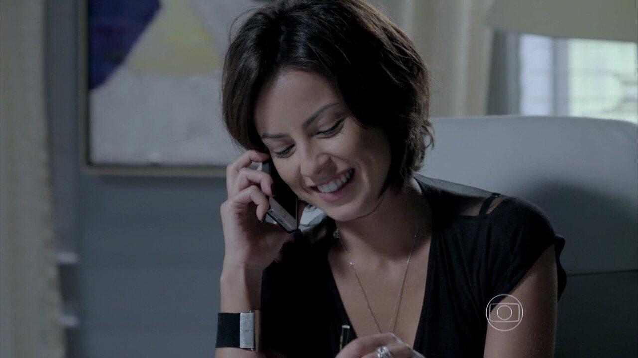 Império - capítulo de sexta-feira, dia 14/11/2014, na íntegra - Maria Clara fala com Vicente para provocar Cristina