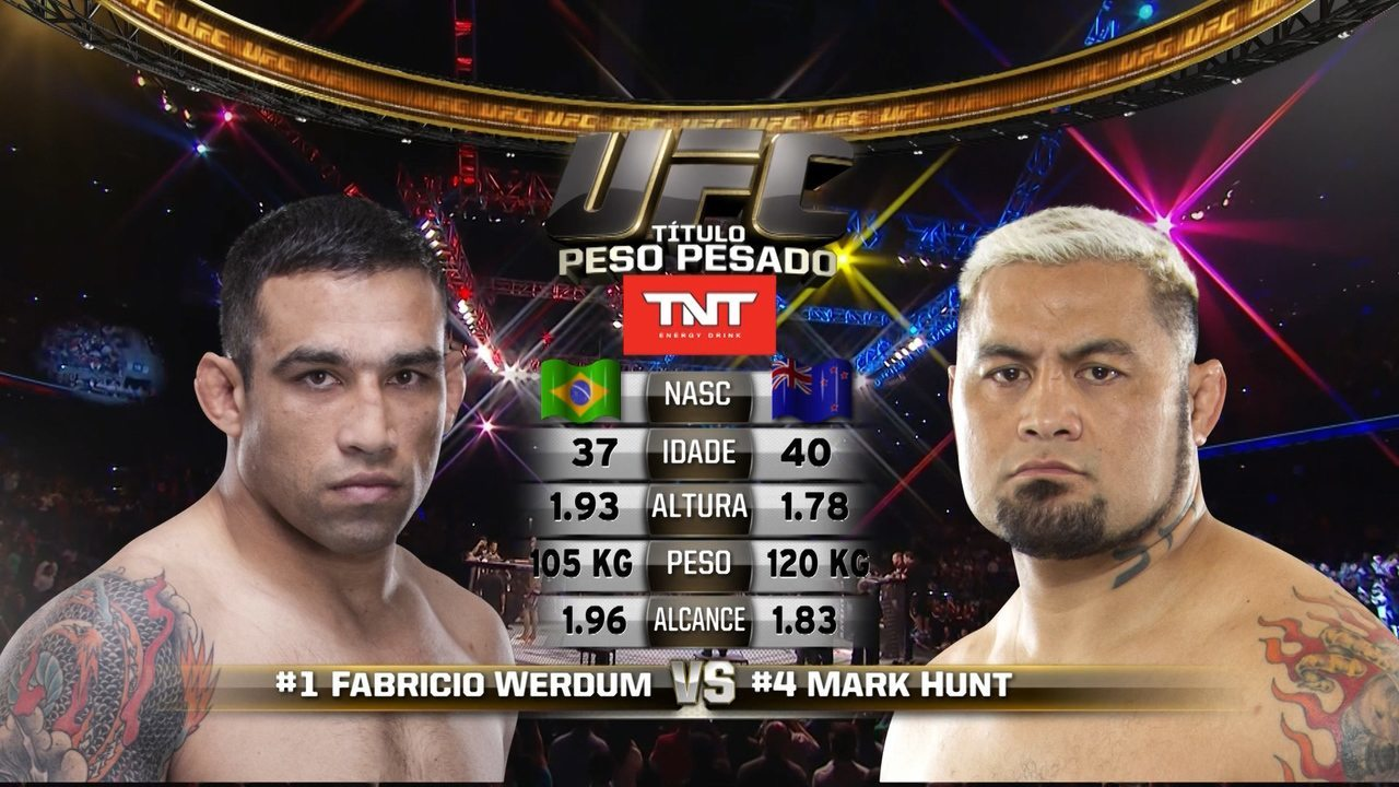 UFC 180 - Fabrício Werdum x Mark Hunt