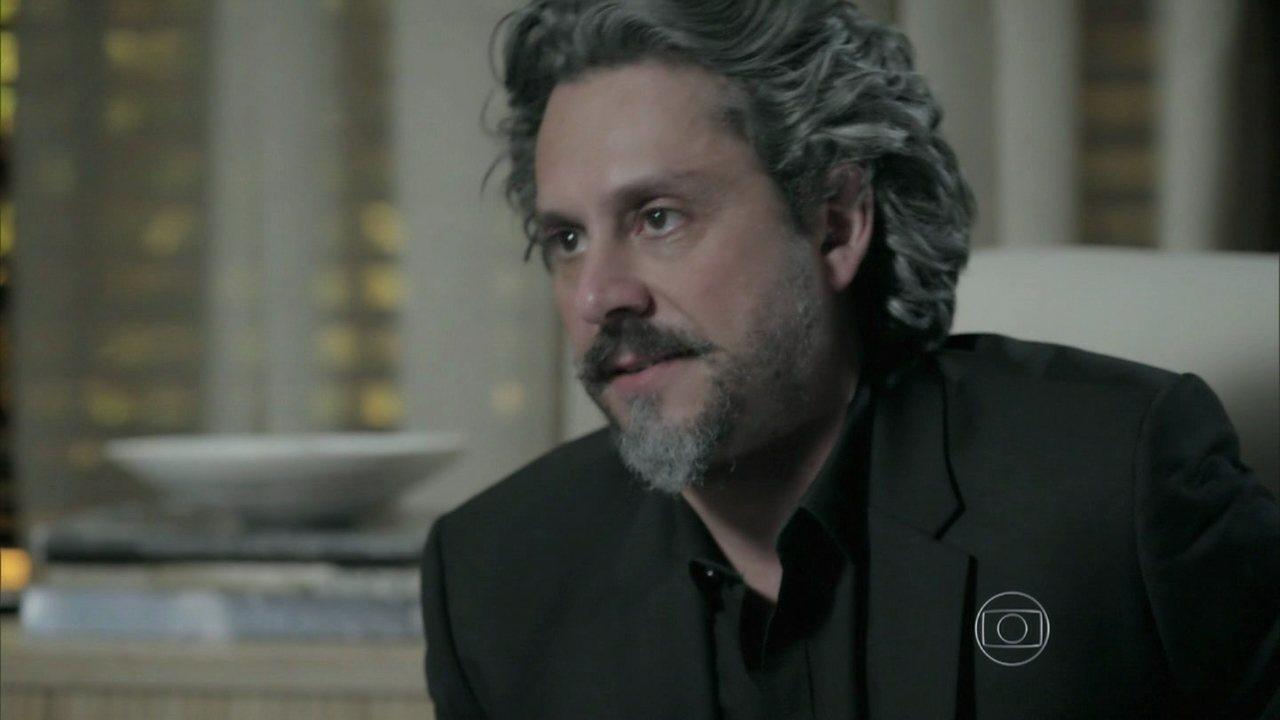 Império - capítulo de segunda-feira, dia 17/11/2014, na íntegra - Marta diz a Zé Alfredo que eles não podem se divorciar