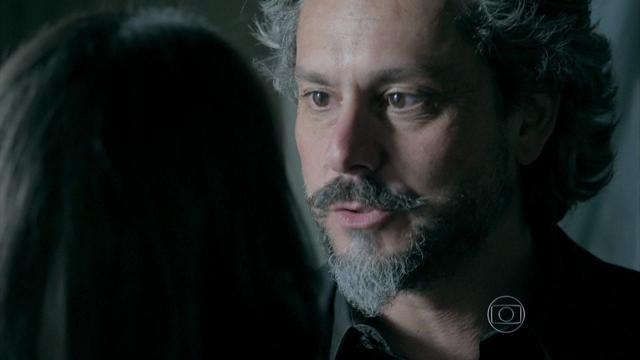 Império - Capítulo de sexta-feira, dia 12/12/2014, na íntegra - José Alfredo confessa a Cora que não passou a noite com ela