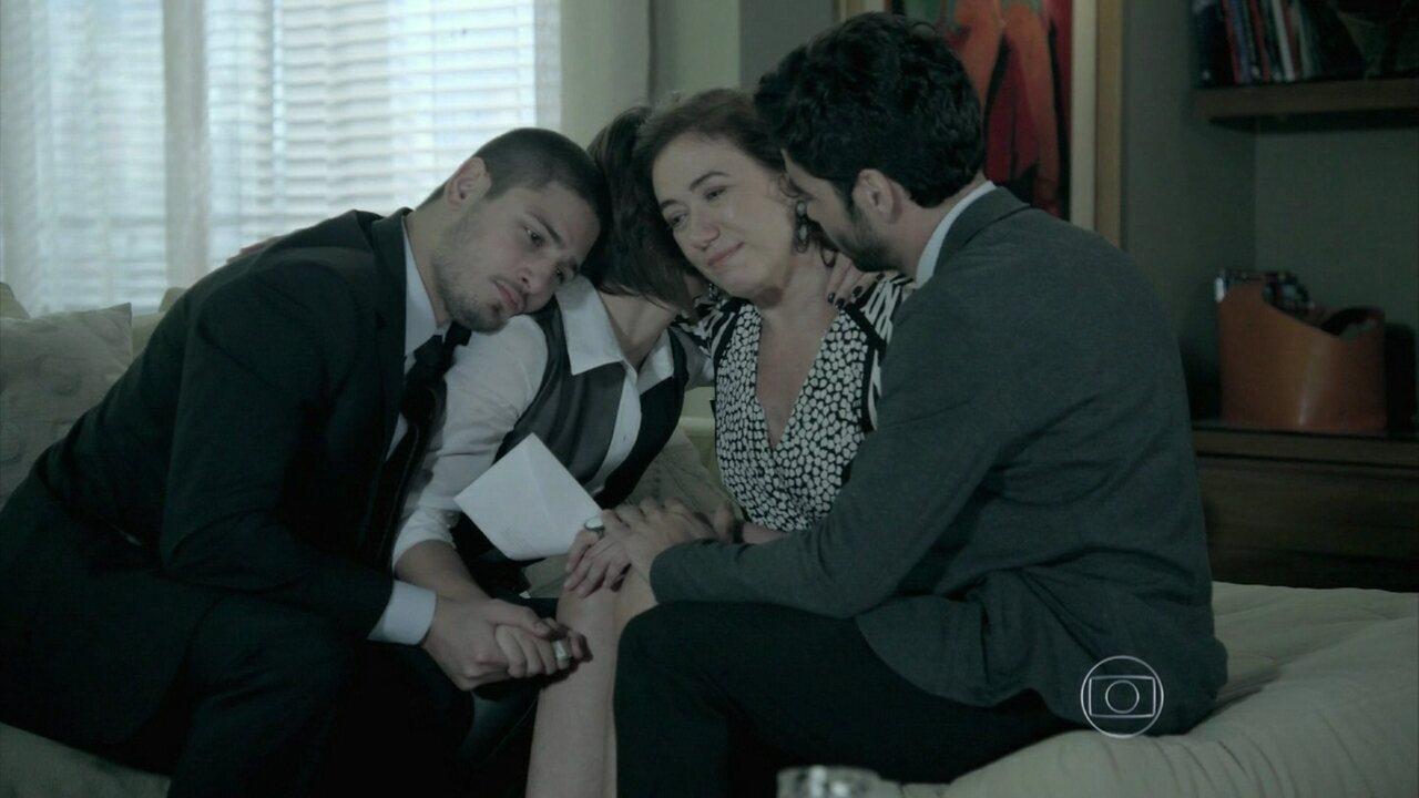 Império - Capítulo de quinta-feira, dia 08/01/2015, na íntegra - Maria Marta confirma a morte de José Alfredo