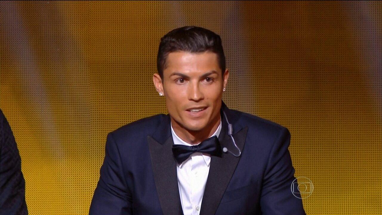 Cristiano Ronaldo é eleito o Melhor do Mundo pela terceira vez pela Fifa