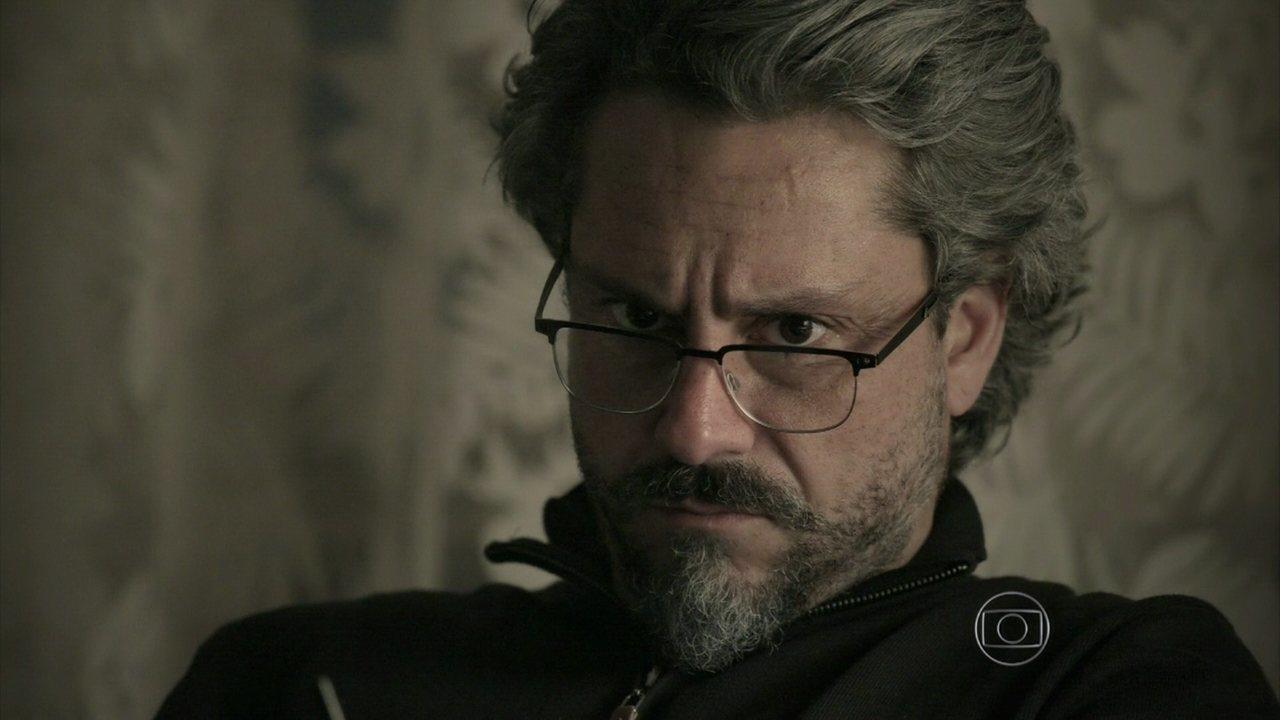 Império - Capítulo de terça-feira, dia 27/01/2015, na íntegra - José Alfredo pensa em sua lista de suspeitos