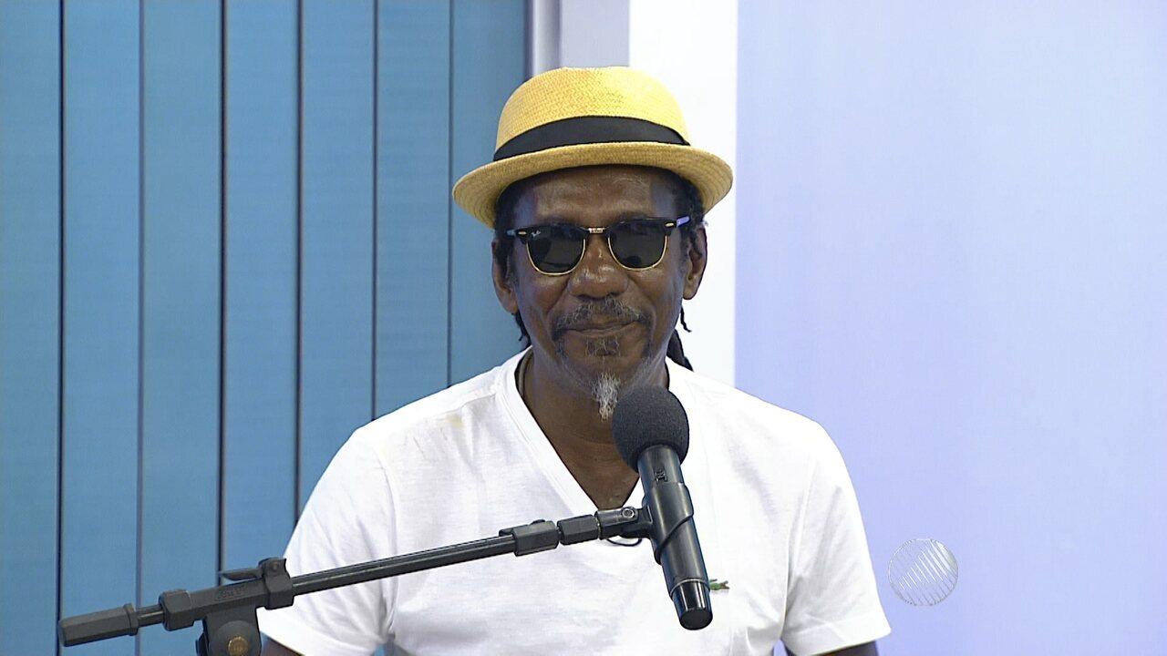 Luiz Melodia é o convidado do estúdio desta quinta (29)