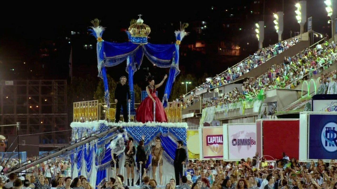 Império - Capítulo de quarta-feira, dia 18/02/2015, na íntegra - Começa o desfile da União de Santa Teresa