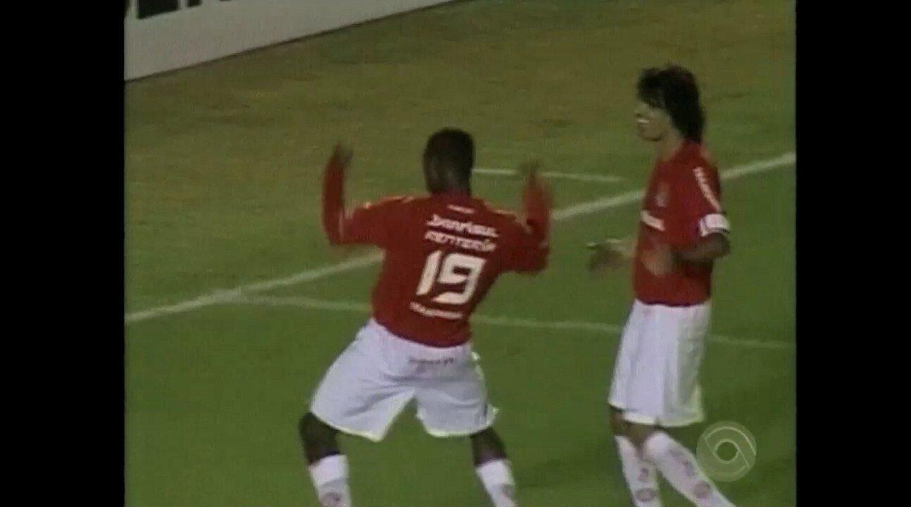 Relembre o jogo entre Inter e Nacional pela Libertadores de 2006