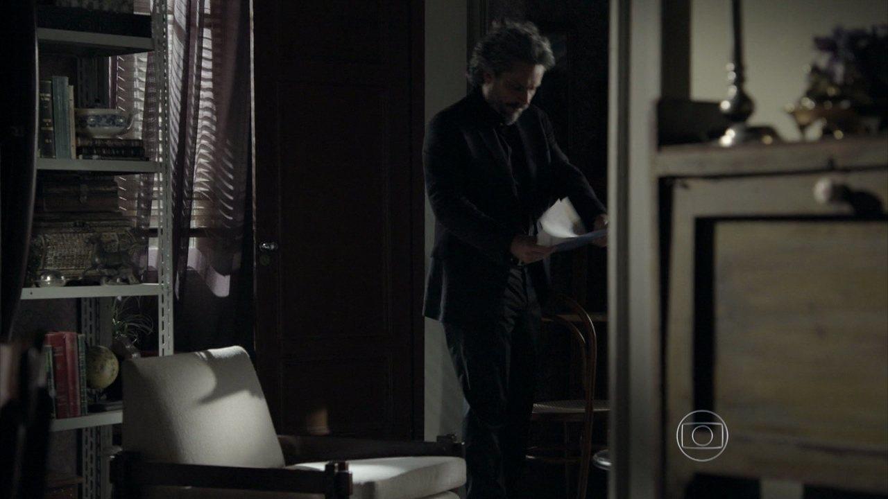 Império - capítulo de sábado, dia 07/03/2015, na íntegra - José Alfredo e Josué invadem a casa de Silviano