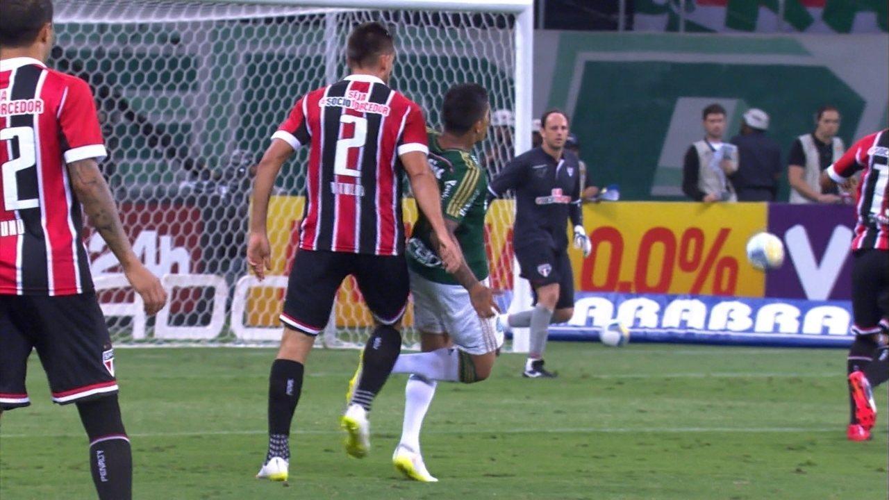 Melhores momentos: Palmeiras 3 x 0 São Paulo pela 12ª rodada do Paulistão 2015