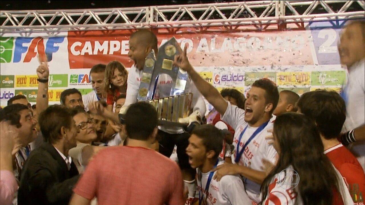 CRB vence Coruripe e conquista Campeonato Alagoano