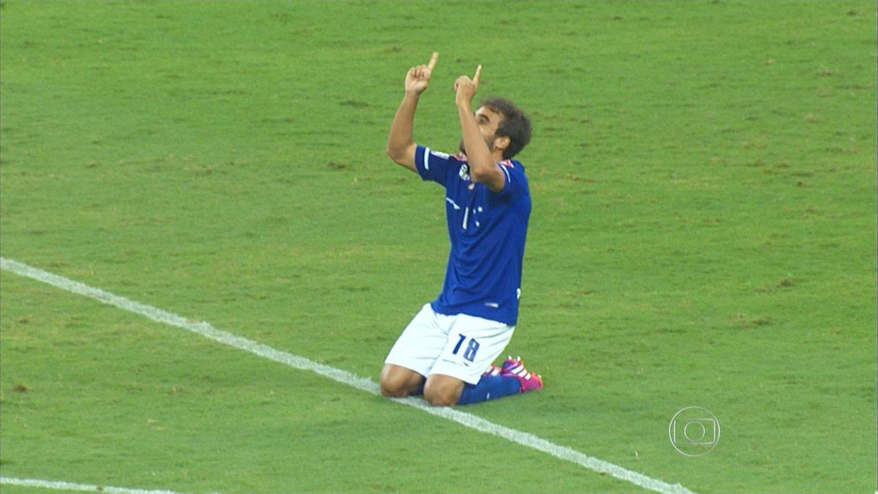 Confira os lances de Cruzeiro 1 x 0 Sâo Paulo e a decisão nos pênaltis, pela Libertadores