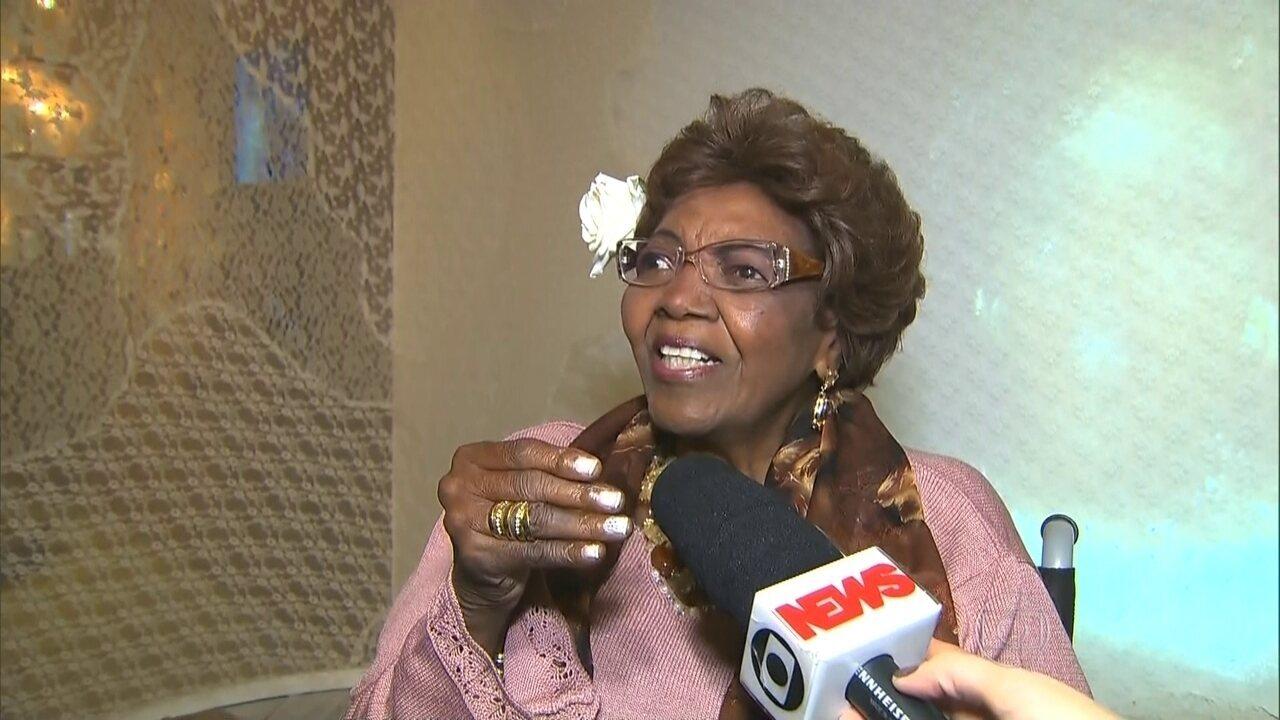 Exposição homenageia Dona Ivone Lara, de 94 anos, na Avenida Paulista