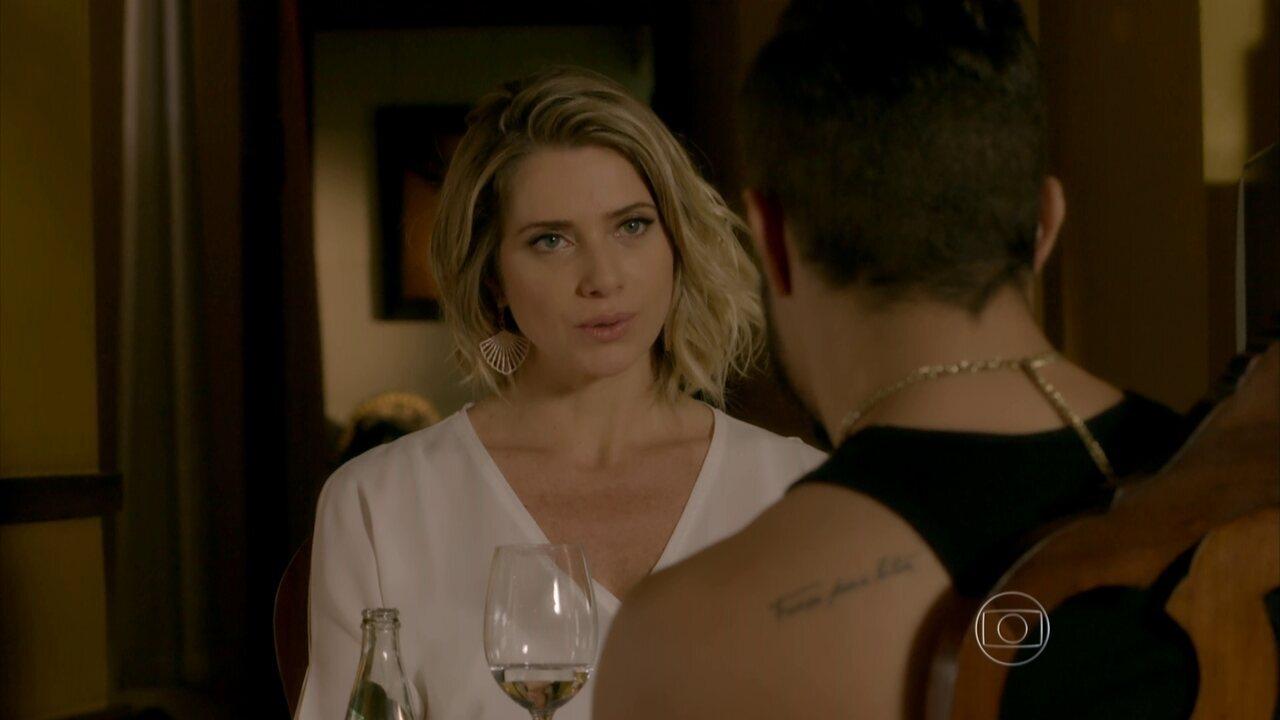 I Love Paraisópolis - capítulo de sábado, dia 20/06/15, na íntegra - Soraya e Grego se encontram em um restaurante