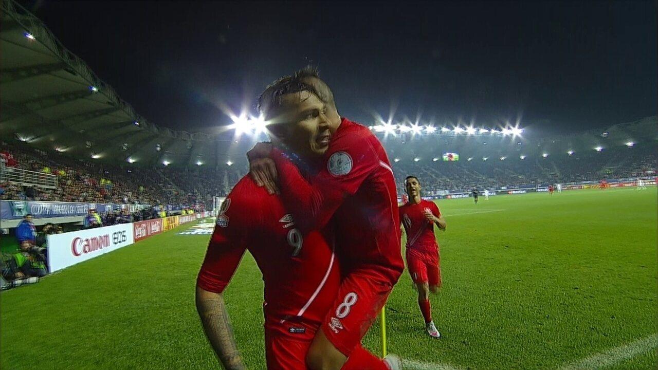Os gols de Bolívia 1 x 3 Peru pelas quartas de final da Copa América 2015