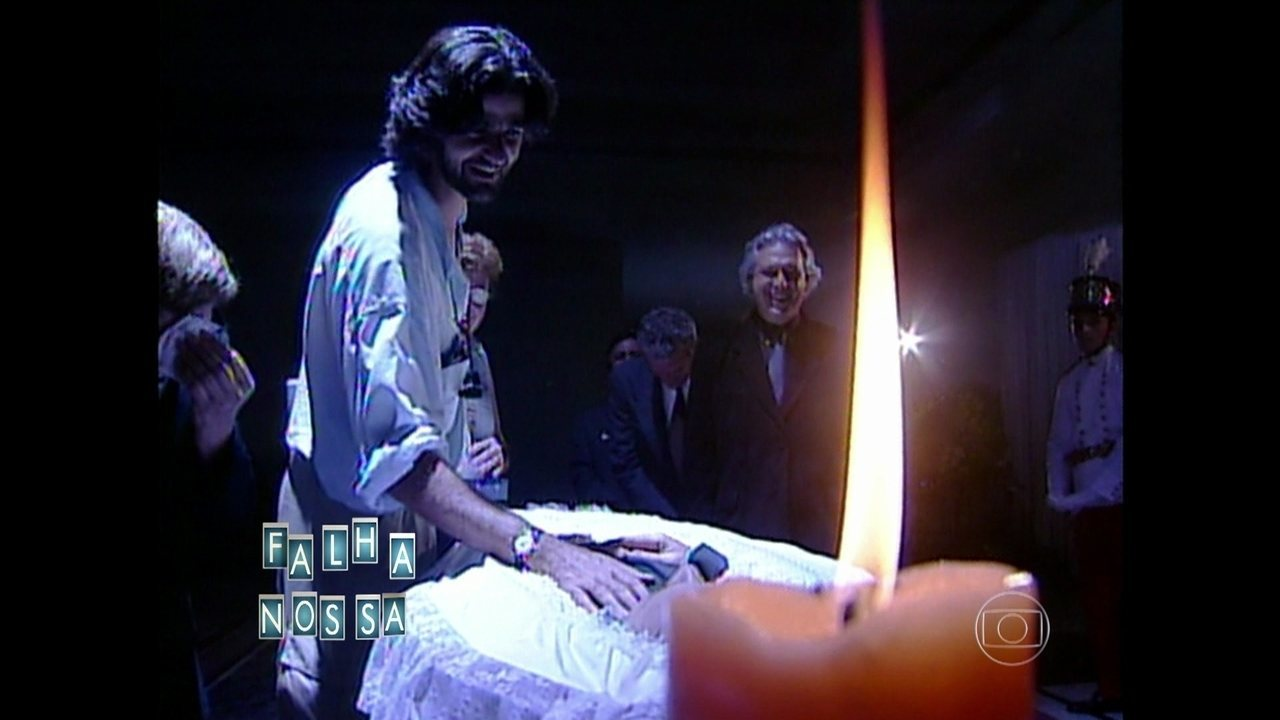 Carlos Vereza protagonizou melhor Falha Nossa da televisão