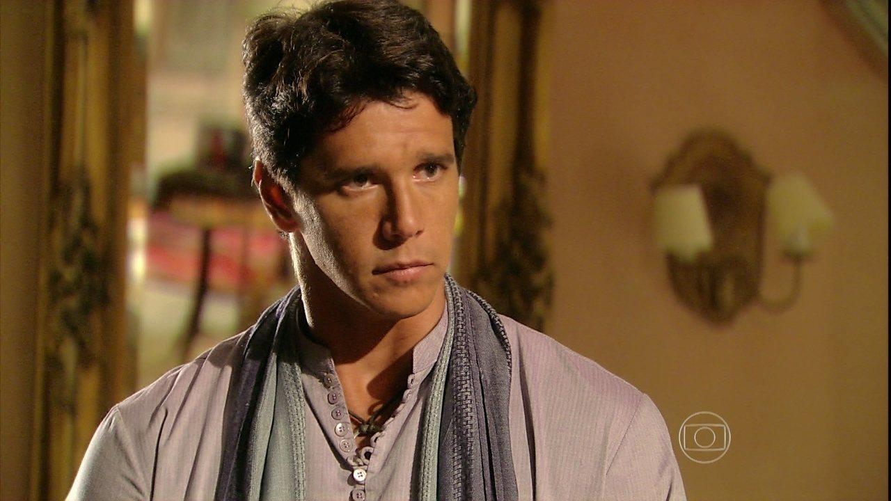 Caminho das Índias - capítulo de quarta-feira, dia 05/08/15, na íntegra - Shankar decide contar para Manu que Bahuan é um dalit