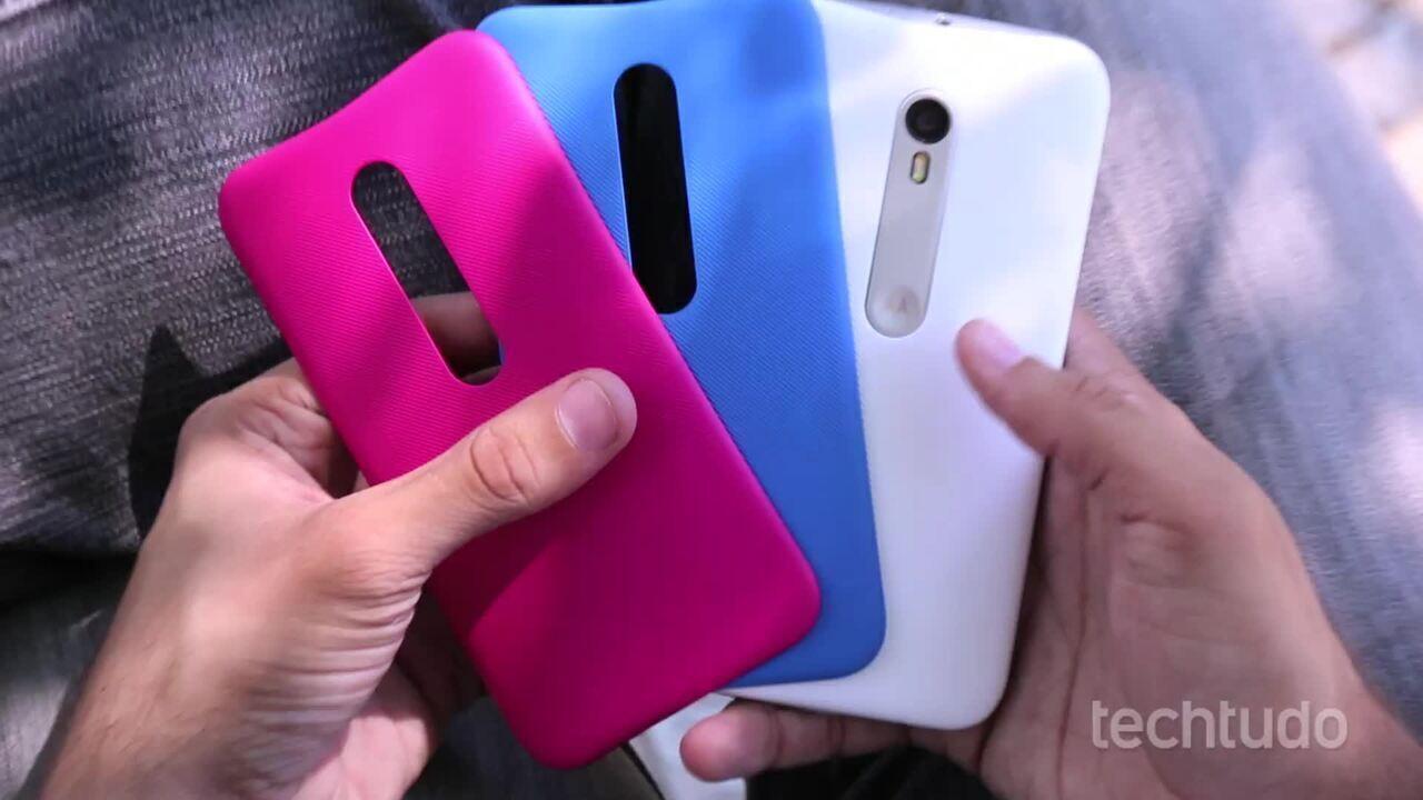 Moto G 3: conheça três pontos positivos e três negativos do smartphone